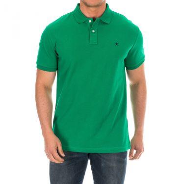 Polo vert-665