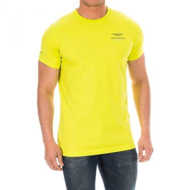 T-shirt jaune fluo-638