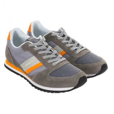 Chaussures gris orange-9GJ
