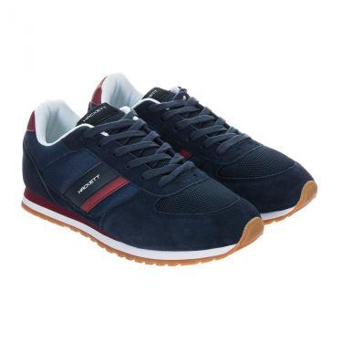 Chaussures navy bordeaux-595