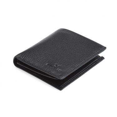 Porte Feuille en cuir Noir