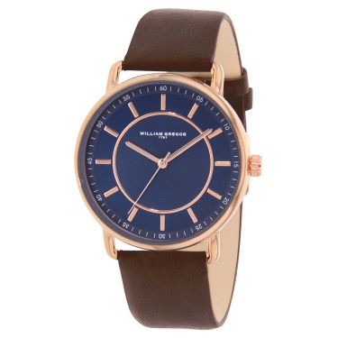 Montre CUIV BLUE/BLEU BRWN/MARRON