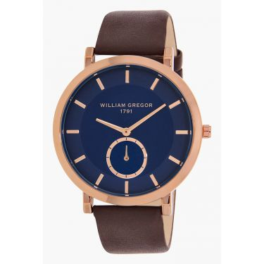 Montre CUIV BLUE/BLEU BRWN/MAR