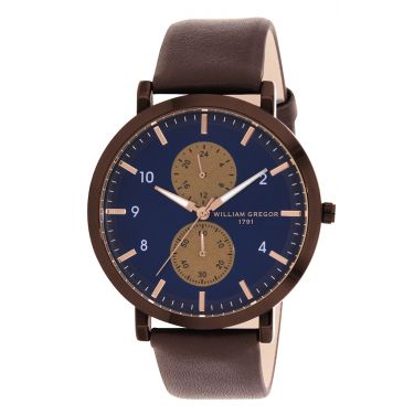 Montre MAR BLUE/BLEU BRWN/MARRON