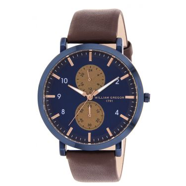 Montre BLEU BLUE/BLEU BRWN/MARRON