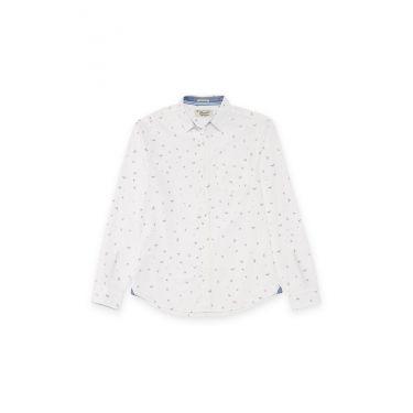 chemise blanche - raquette Tennis