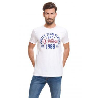 T-shirt 1986 blanc