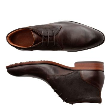 Thames St. Daim&Cuir Marron
