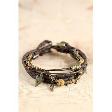 Bracelet jaune 60