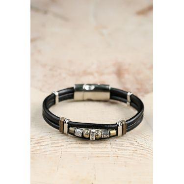 Bracelet silver jaune 38