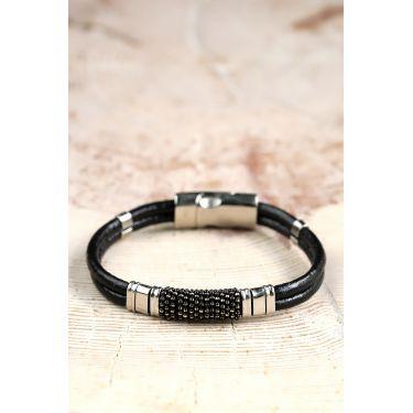 Bracelet silver jaune 52