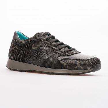 Basket hunter marron noir