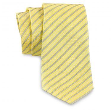 Cravate jaune-23