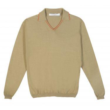 Pull beige-61