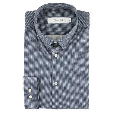 Chemise bleu-90