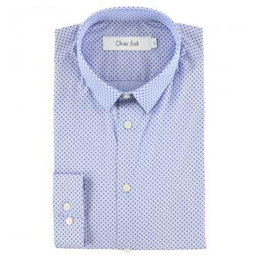 Chemise bleu ciel-86
