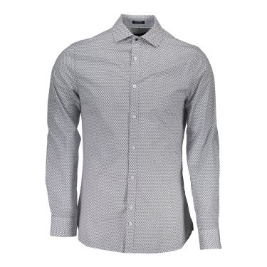 Chemise à manches longues fines bleu ciel 9X0