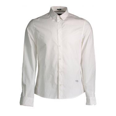 Chemise à manches longues blanc M40