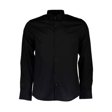 Chemise à manches longues fines noir 39Z