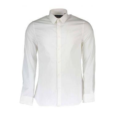 Chemise à manches longues fines blanc 16Z