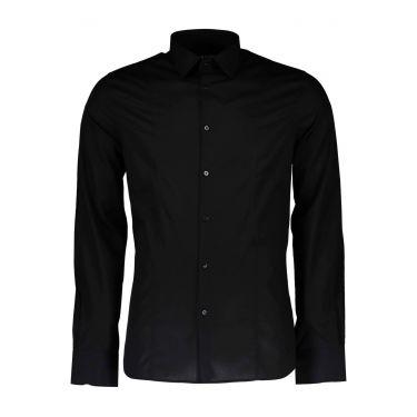 Chemise à manches longues et fines noir 16Z