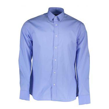 Chemise à manches longues fines bleu ciel 70Z
