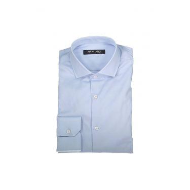 Chemise à manches longues bleu ciel 16Z