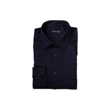 Chemise à manches longues fines bleu 39Z