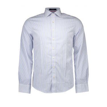 Chemise à manches longues Blanche-1