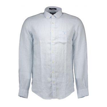 Chemise à manches longues Bleu&Blanche-50