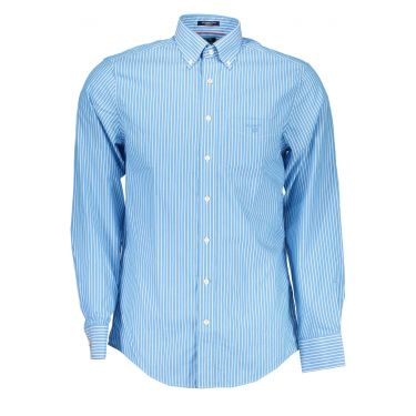 Chemise à manches longues Bleu Ciel-40