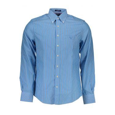 Chemise à manches longues Bleu-42