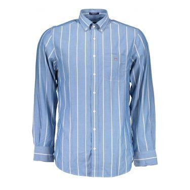 Chemise à manches longues Bleu&Blanche-00