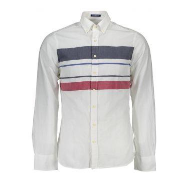 Chemise à manches longues Blanche-62