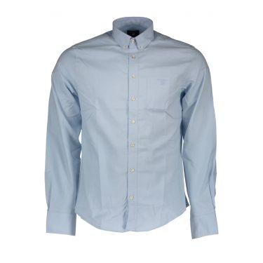 Chemise à manches longues Bleu-32