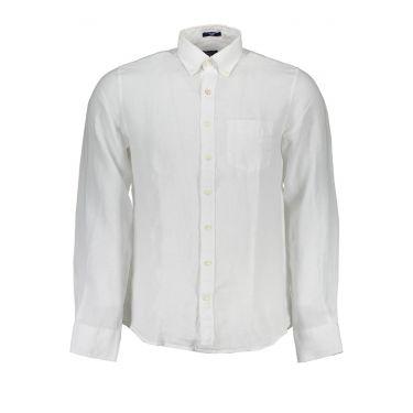 Chemise à manches longues Blanche-02