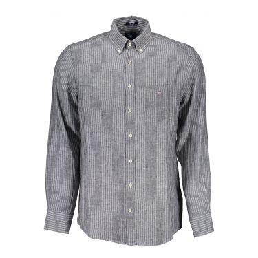 Chemise à manches longues Noir-10