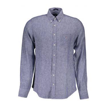 Chemise à manches longues Bleu-12