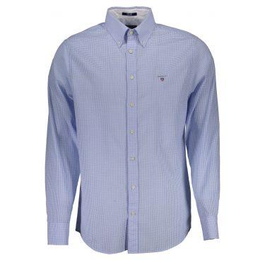 Chemise à manches longues Bleu-30