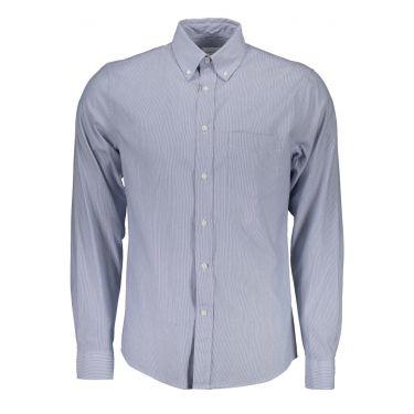 Chemise à manches longues Bleu-36