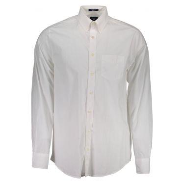 Chemise à manches longues Blanche-10