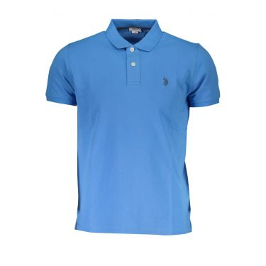 Polo à manches courtes Bleu-230