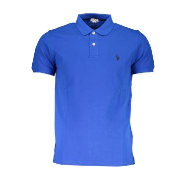 Polo à manches courtes Bleu-237