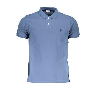 Polo à manches courtes Bleu-273