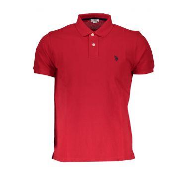 Polo à manches courtes Rouge-255