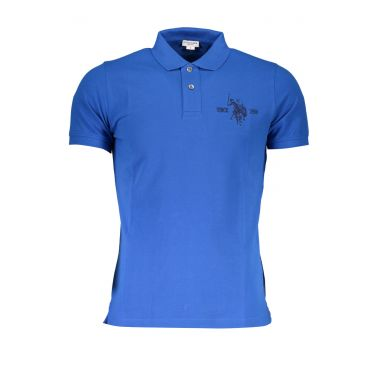 Polo à manches courtes Bleu-337