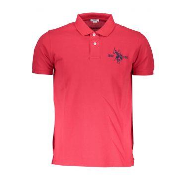 Polo à manches courtes Rouge-355