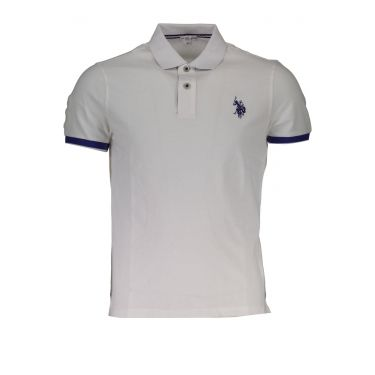 Polo à manches courtes Blanc-501