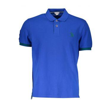 Polo à manches courtes Bleu-537