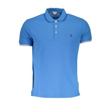 Polo à manches courtes Bleu-630